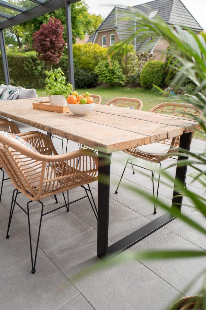 Garden Table Square legs